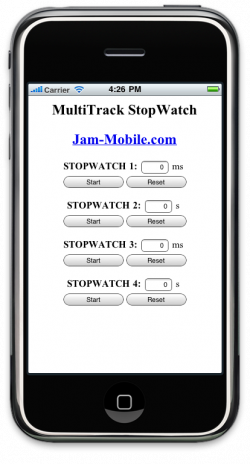 MultiTrack StopWatch Pro