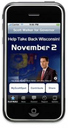 Scott Walker for Wisconsin Governor Official Brown Bag App - Jam-Mobile.com